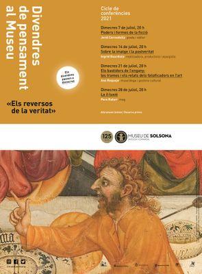 """Cicle de conferències """"Els divendres de pensament al Museu"""" per als dimecres"""